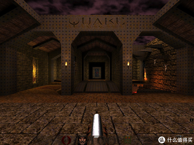一代雷神之锤,很难想象当时的PC硬件竟然可以出来画质如此出色的游戏。也是我和小伙伴97年时网吧主要联机的第一人称视角射击游戏。