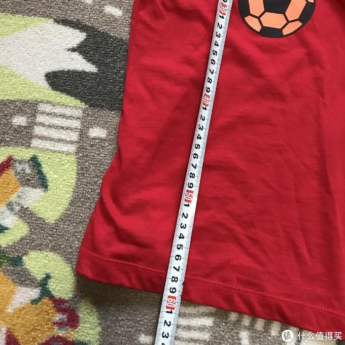 55块很划算!NIKE BQ5997足球印花儿童T恤