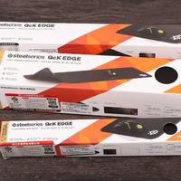 赛睿 Qck EDGE游戏鼠标垫开箱展示(包边 设计 图案)