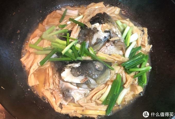 客家腐竹焖鱼头