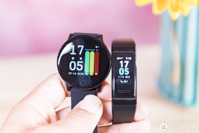 圆形表盘有入门手环的价格,体验全程通W8智能手表