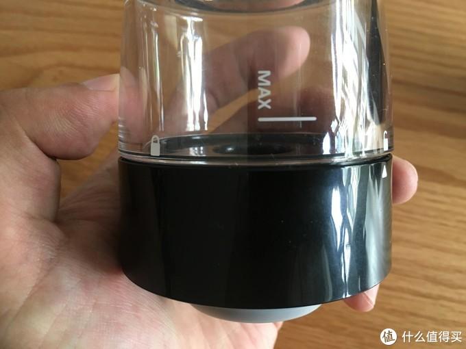 ▲上部透明的茶水分类杯体