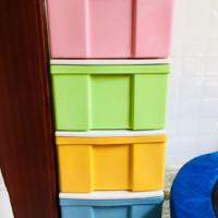 爱丽思彩色收纳柜包装介绍(做工|连接扣|轮子|款式)