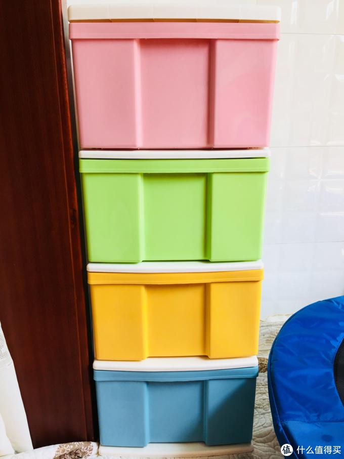 收纳神器第二波~爱丽思彩色收纳柜(附与hello Kitty系列对比)