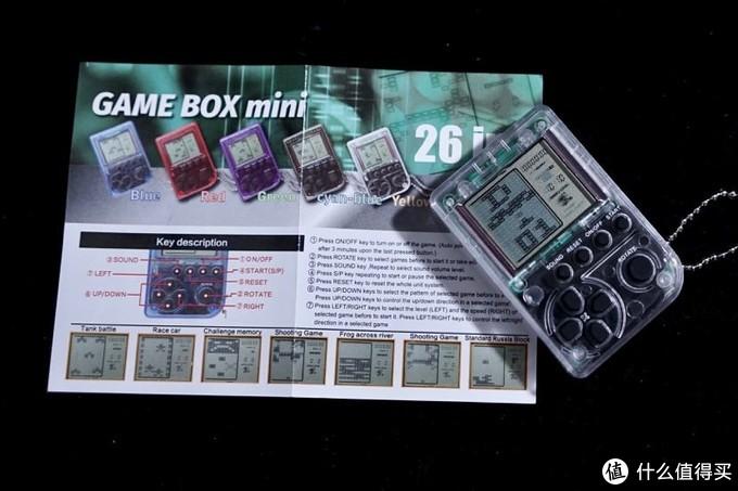 追逐孩童时的快乐 — 复古俄罗斯方块迷你游戏机开箱