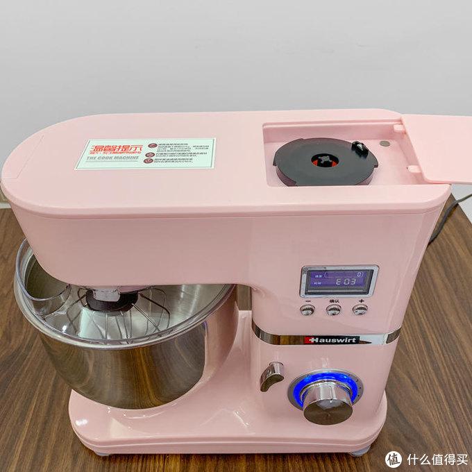测评|当家女主人的厨房必备宝物,海氏HM740厨师机!