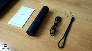 紫米随身强光手电筒外观展示(机身|按键|指示灯|灯珠)