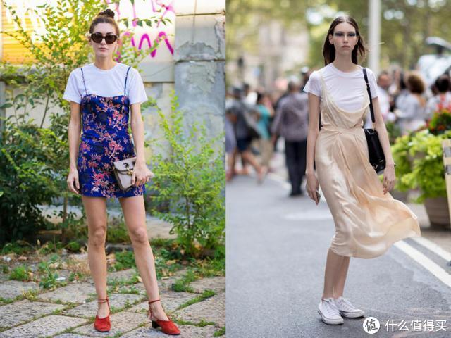 白色T恤精致简单,Get时髦精的穿搭秘诀,也能穿出时尚潮牌的味道