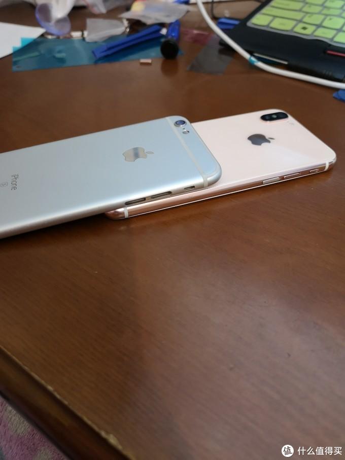 iPhone 6s 变身迷你xs 换后盖+换电池