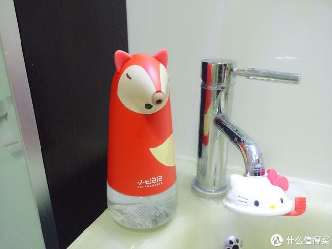 爱上洗手的理由,你需要小七自动感应泡沫洗手机来解锁
