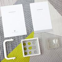 优点Cuber智能即热净饮机外观展示(主机|滤芯|接水盒|把手|杯垫)