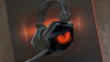 钛度暗鸦之眼PRO耳机外观展示(耳罩|麦克风|接口)