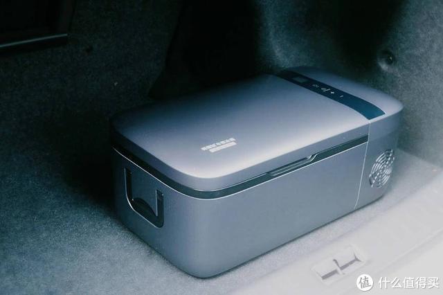 小米有品又出精品,英得尔车载冰箱12L开箱测评:自驾游的福音