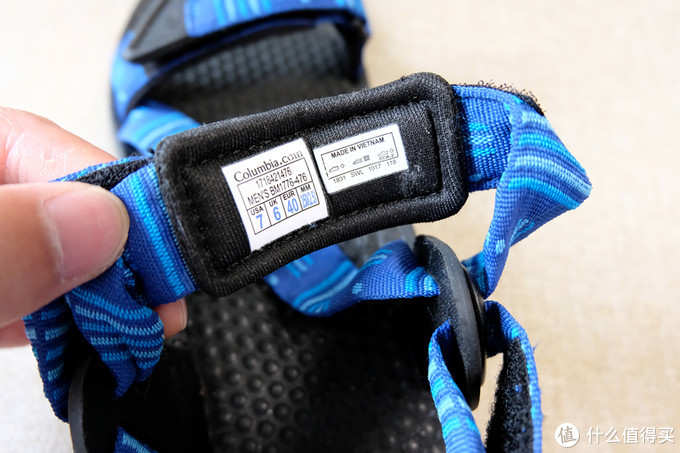 做工细致,脚感舒适,哥伦比亚户外凉鞋 入手体验