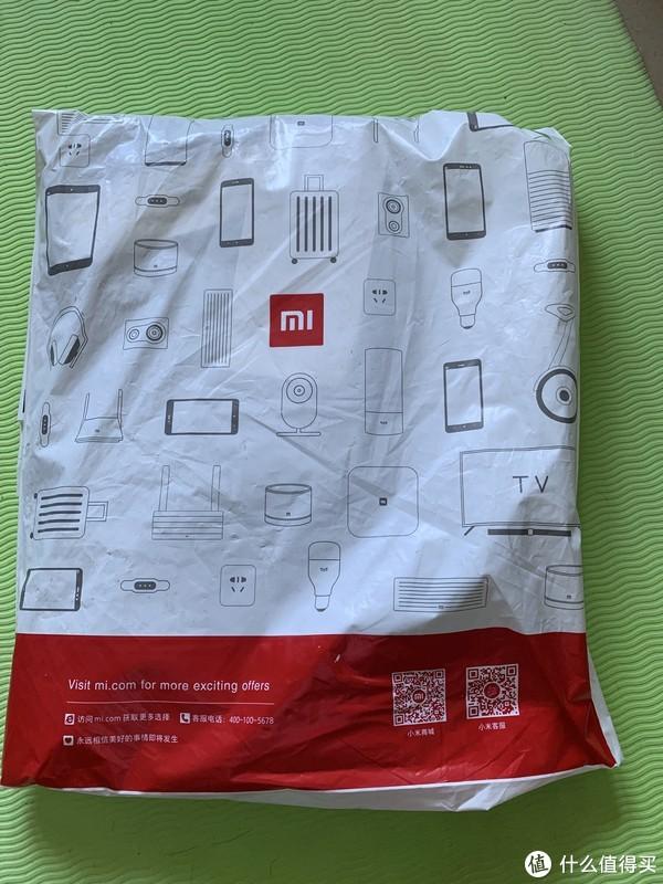 产品外包装,印有小米logo