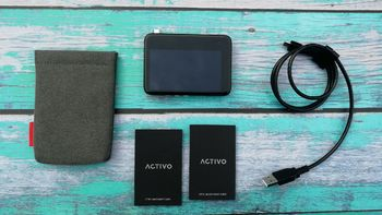 ACTIVO CT10便携Hi-Fi播放器外观展示(数据线|厚度|按键|指纹)