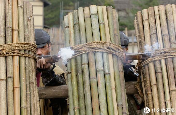 上田合战中真田方的防御工事。