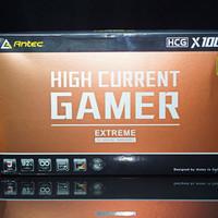 安钛克 HCG-X1000W电脑电源外观展示(外壳|风扇|接口|铭牌|模组线)
