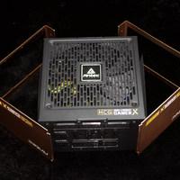 安钛克 HCG-X1000W电脑电源使用拆解(外壳|螺丝|风扇|散热片)