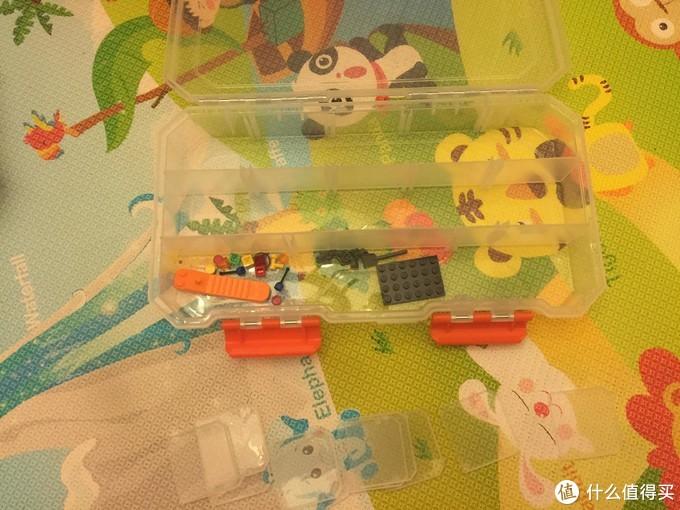 大盒的内部隔片只能拆纵向的,横向的是固定住的不能拆除