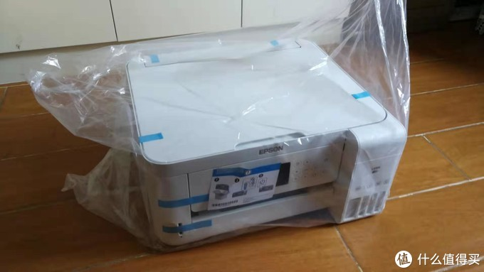 爱普生墨仓式L4166 无线WiFi打印复印扫描一体机开箱及使用感受