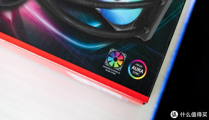 RGB神光同步,华硕ROG LC240水冷散热器评测
