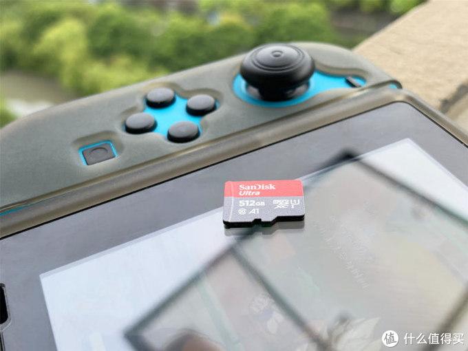 NS的大容量游戏库,闪迪512g内存卡