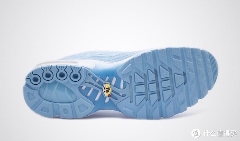 """冰晶般的解构风:NIKE 耐克 明日发售 Air Max Plus Decon """"PSYCHIC BLUE""""复古运动鞋"""