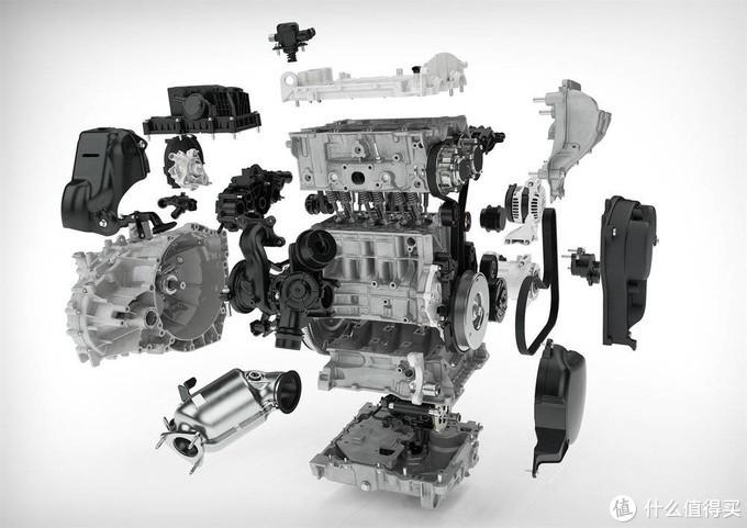 (模块化的Drive-E发动机,能够根据需要,推出不同汽缸数、不同功率的版本)