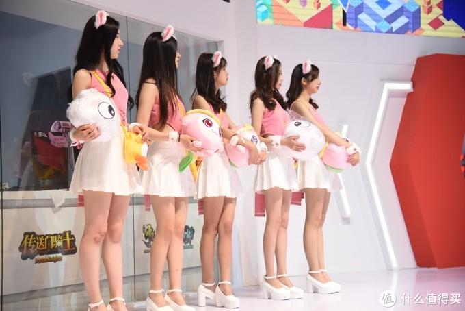 粉色系的小姐姐们。
