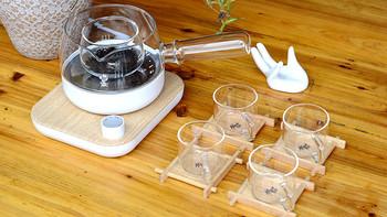 鸣盏三合一煮茶器使用总结(煮茶|电源线)