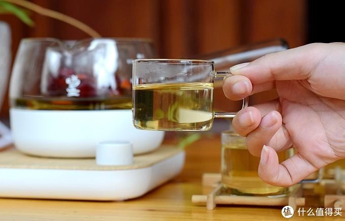 中年大叔办公白领养生养颜品质茶器,鸣盏三合一煮茶器体验