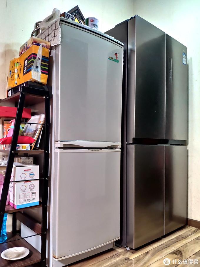 四开门冰箱之大,一家三口用不下:美的冰箱 BCD-448WTPZM(E)晒单