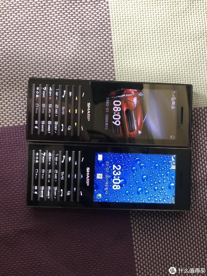夏普SH5020C和夏普SH5010C,你没见过的闪闪发亮的手机