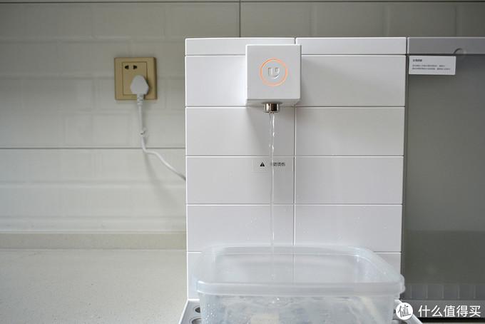 小米有品众筹智能即热净饮机,内置三级净水滤芯,看着像乐高拼出来的