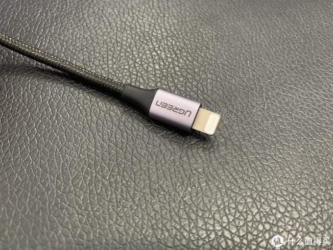 官方规格上说明,从包裹的线缆尾部到头部长度是24mm