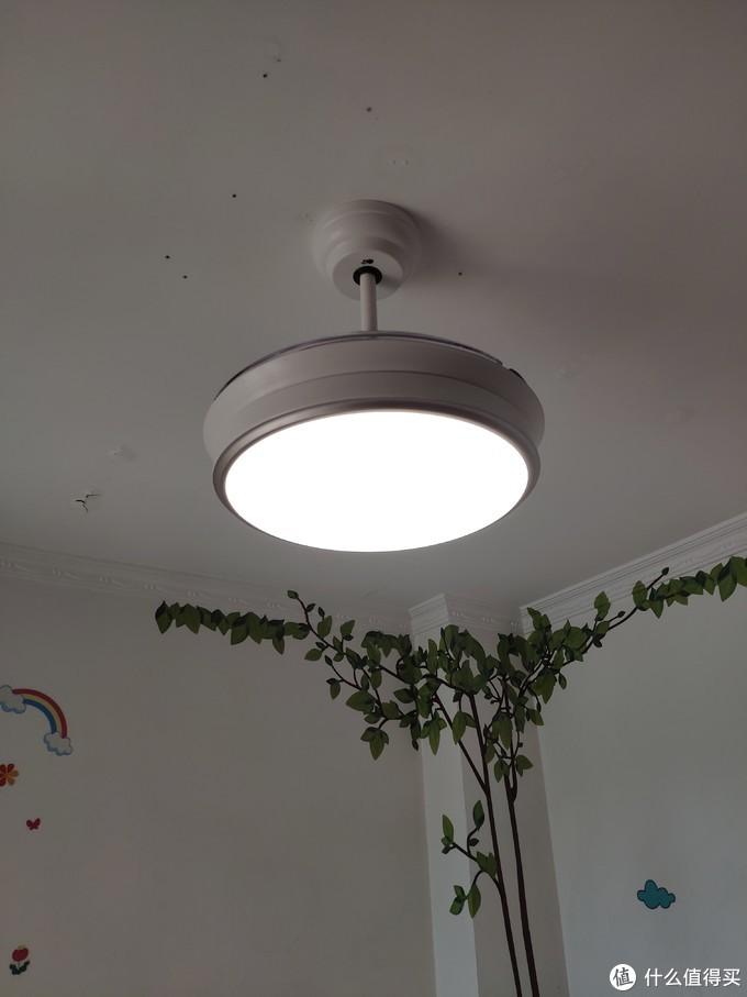 首晒!奥普 电扇灯/吊扇灯 安装过程以及功能测评