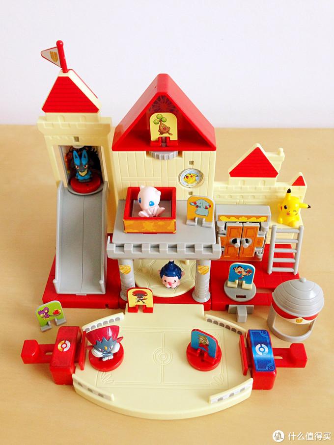 玩具测评丨BANDAI万代神奇宝贝梦幻城堡盒玩