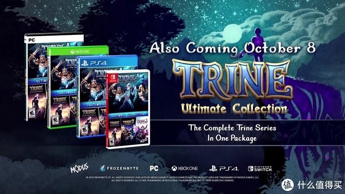 重返游戏:《三位一体4》发售预告片出炉 10月8日登陆PC与主机