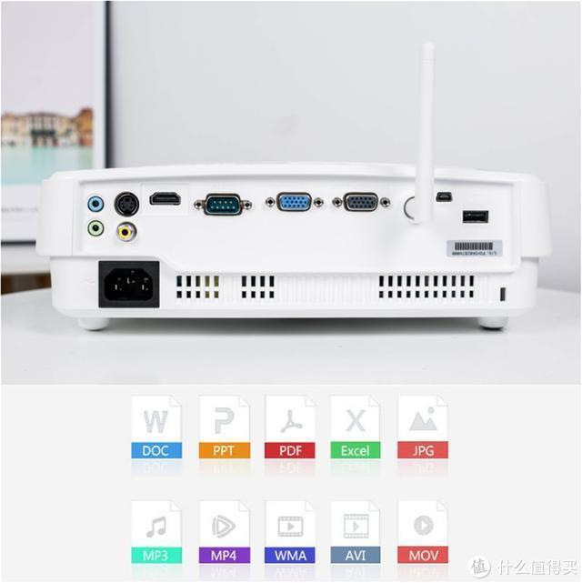 无线投屏,明基智能商务E500投影仪特色体验,10秒开会!