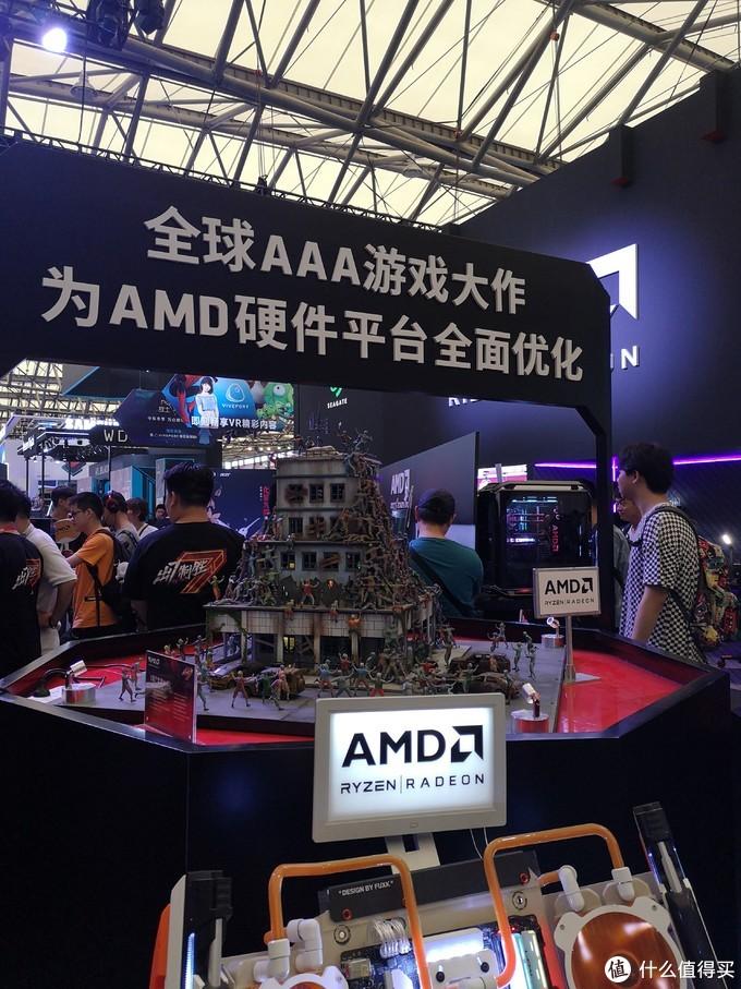 体验AMD主机直接蓝屏,2019年ChinaJoy到底好不好耍?
