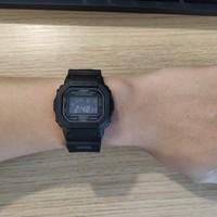 卡西欧 DW5600MS-1CR手表使用总结(表盘|佩戴|功能|防水)