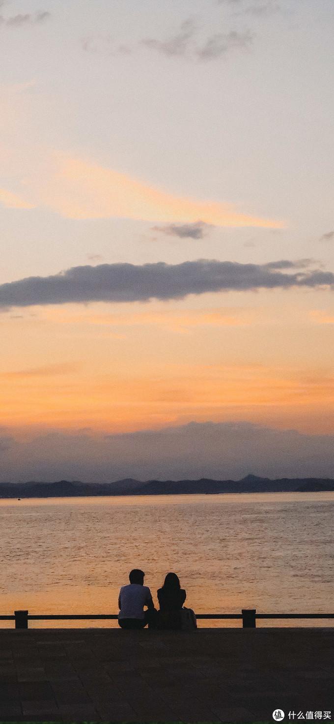 高松港的夕阳