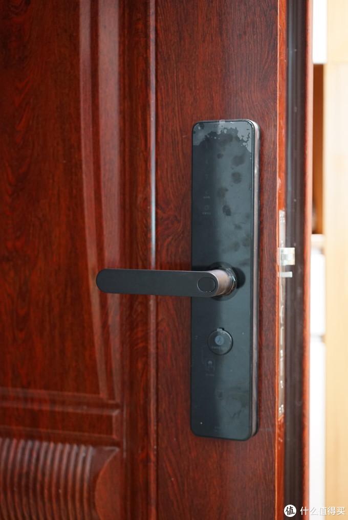 米家指纹锁,开门!