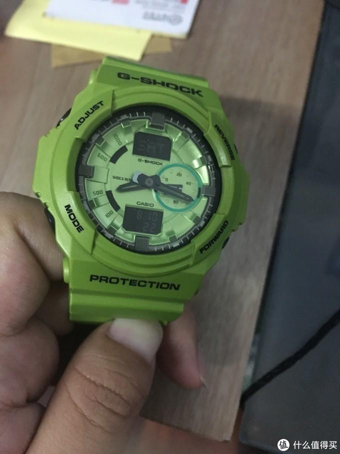 迟到很久开箱:卡西欧G-Shock5610 反显