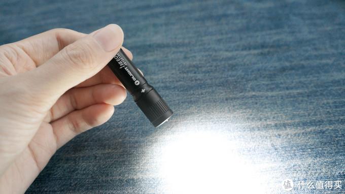 小巧精致,OLIGHT 傲雷 I3E AAA 手电 开箱及使用体验