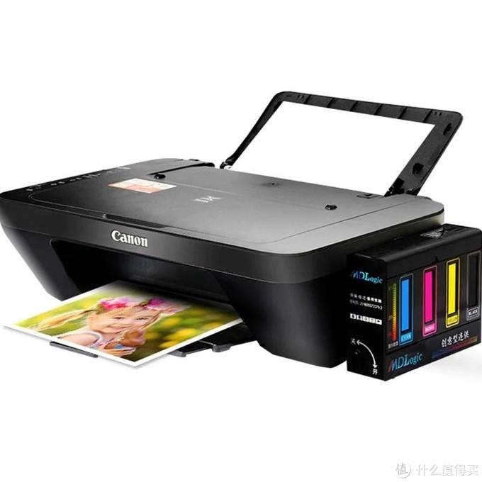 装连供的打印机