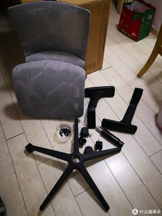 sitzone 精一 233A 全网布版人体工学椅开箱使用