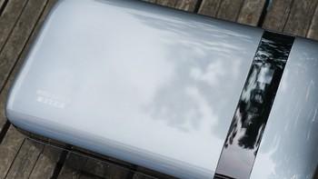 英得尔车载冰箱外观展示(机身|腔体|面板|把手|接口)