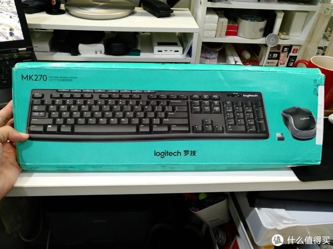 为了让家里和办公室键盘布局一样,选择入手罗技MK270键鼠套装